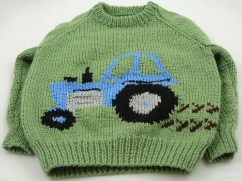 Here's one my nan made earlier...for my little nephew